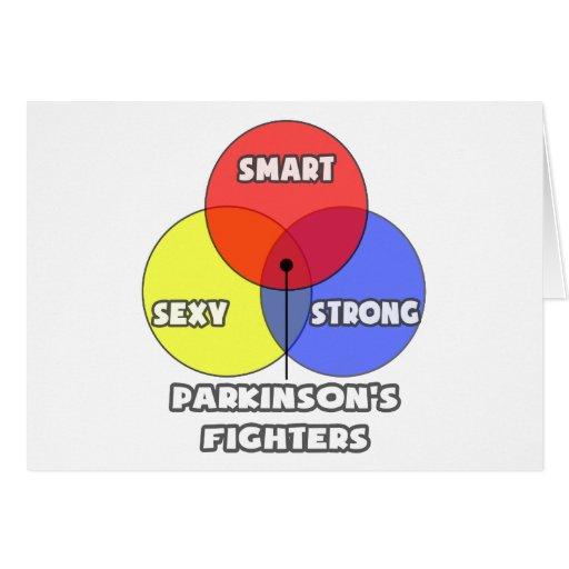 Diagrama de Venn. Los combatientes de Parkinson Tarjeta De Felicitación