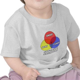 Diagrama de Venn. Software Engineers Camiseta