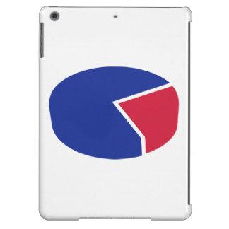 Diagrama del gráfico de sectores carcasa iPad air