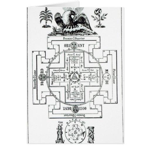 Diagrama místico de Solomon Felicitacion