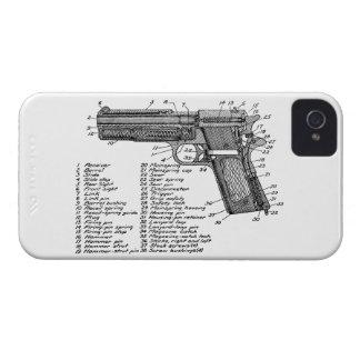 Diagrama V2 del arma Funda Para iPhone 4 De Case-Mate
