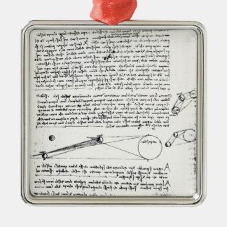 Diagramas astronómicos adorno de navidad