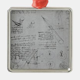 Diagramas astronómicos del códice adorno de navidad