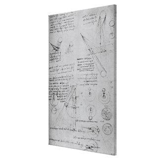 Diagramas astronómicos, del códice lienzo envuelto para galerías