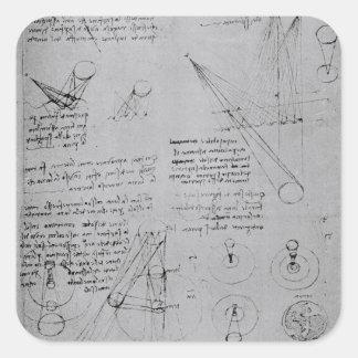 Diagramas astronómicos, del códice pegatina cuadrada