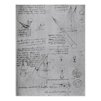 Diagramas astronómicos, del códice tarjeta postal