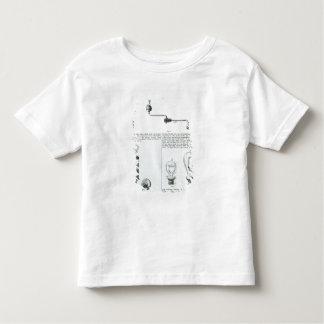 Diagramas de bombillas y de sus soportes tee shirts
