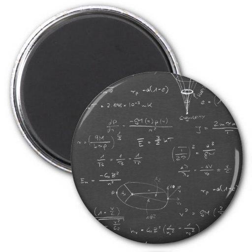 Diagramas y fórmulas de la astrofísica imán redondo 5 cm
