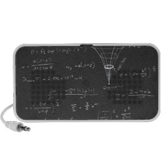 Diagramas y fórmulas de la astrofísica mp3 altavoz