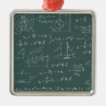 Diagramas y fórmulas de la física adorno para reyes