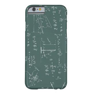 Diagramas y fórmulas de la física funda para iPhone 6 barely there