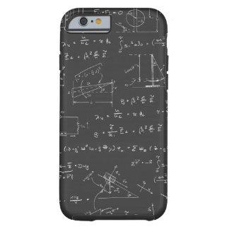 Diagramas y fórmulas de la física funda para iPhone 6 tough