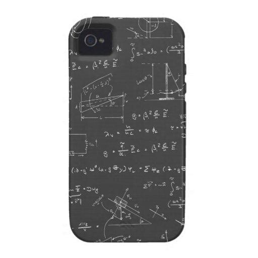 Diagramas y fórmulas de la física Case-Mate iPhone 4 carcasa