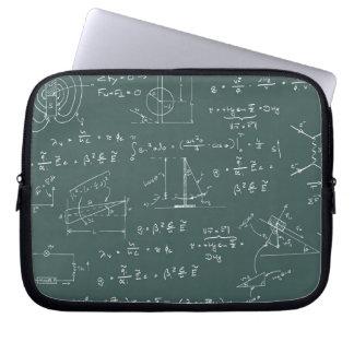 Diagramas y fórmulas de la física mangas computadora