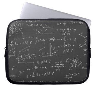 Diagramas y fórmulas de la física mangas portátiles