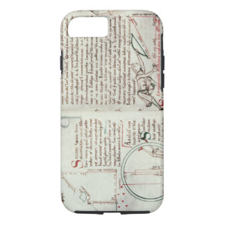 Diagrams of measurements and text (vellum) iPhone 7 case