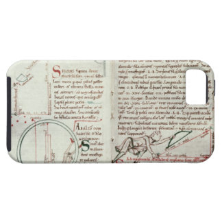 Diagrams of measurements and text (vellum) iPhone SE/5/5s case