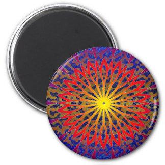 Dial 2011 del SOL del SDC Chakra Iman Para Frigorífico