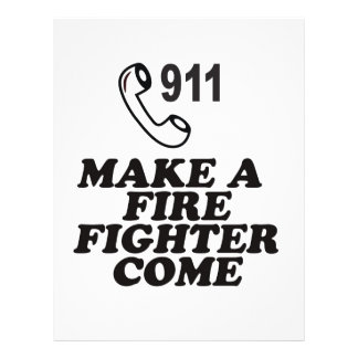 DIAL 911 FIRE FLYERS