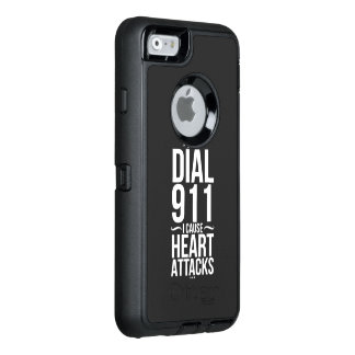 Dial 911 I Cause OtterBox Defender iPhone Case