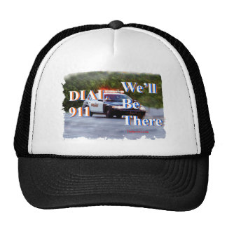 DIAL 911 We'll Be There Hats