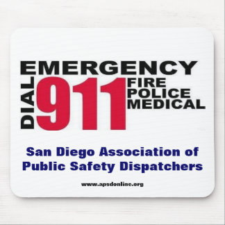 Dial 9-1-1 mouse pads