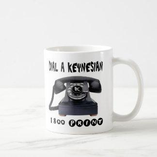 Dial a Keynesian Coffee Mug