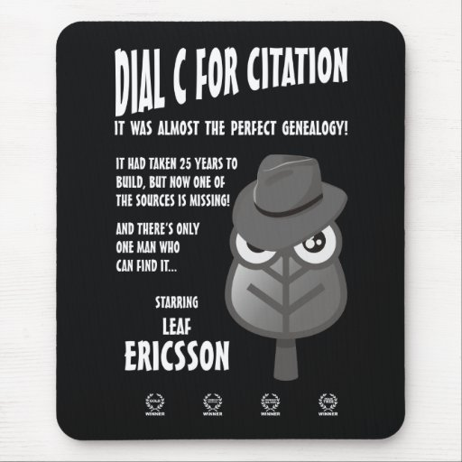 Dial C for Citation Mouse Pad