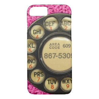 Dial Me Pink iPhone 8/7 Case