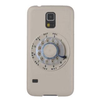 Dial rotatorio retro del teléfono carcasa para galaxy s5