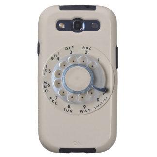 Dial rotatorio retro del teléfono samsung galaxy s3 protectores