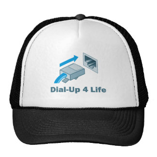 Dial-Up 4 Life Trucker Hats
