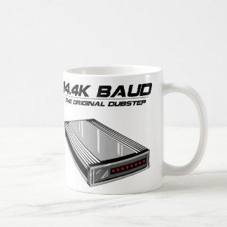 Dial Up Dubstep Old School Modem Classic White Coffee Mug