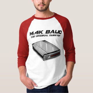 Dial Up Dubstep Old School Modem T Shirts