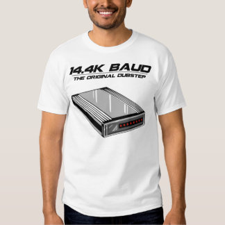 Dial Up Dubstep Old School Modem Tee Shirt