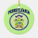 Dialecto de Pennsylvania Adornos De Navidad