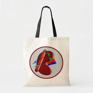 Diálisis y regalos del diseño del riñón bolsas de mano