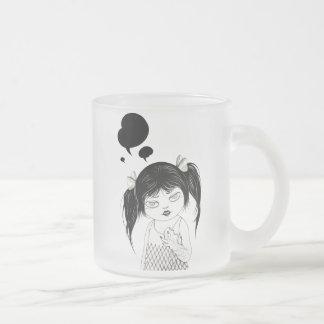 """Dialog 03"" Yan Wei | 闫威 Frosted Glass Coffee Mug"
