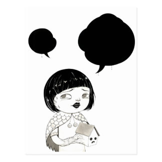 """Diálogo 01"" 闫威 de Yan Wei el | Tarjeta Postal"