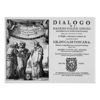 Dialogo de Galileo Póster