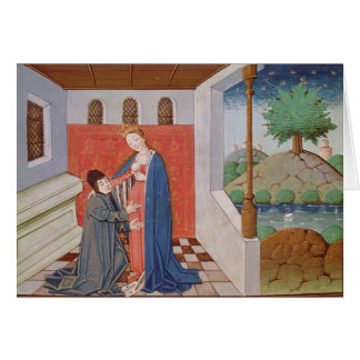 Dialogue between Boethius and Philosophy Card