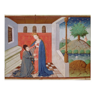 Dialogue between Boethius and Philosophy Postcard