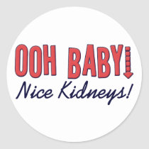 Dialysis Humor Gifts & T-shirts Classic Round Sticker