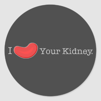 Dialysis Humor T-shirts Gifts Round Sticker