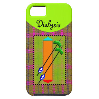 Dialysis iPhone 5 Case Dialyzer and Needles Design