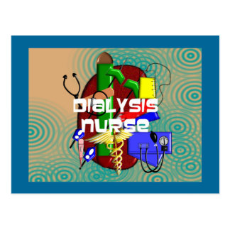Dialysis Nurse Art Gifts Postcard