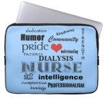 Dialysis Nurse-Attributes/Blue-13 inch Laptop Computer Sleeves