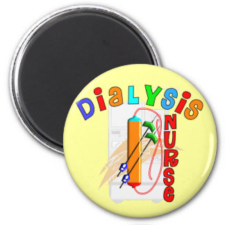Dialysis Nurse Gifts 2 Inch Round Magnet