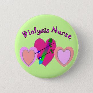 Dialysis Nurse Gifts Button