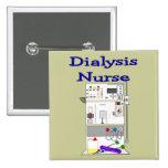 Dialysis Nurse Gifts-Unique Machine Design Buttons